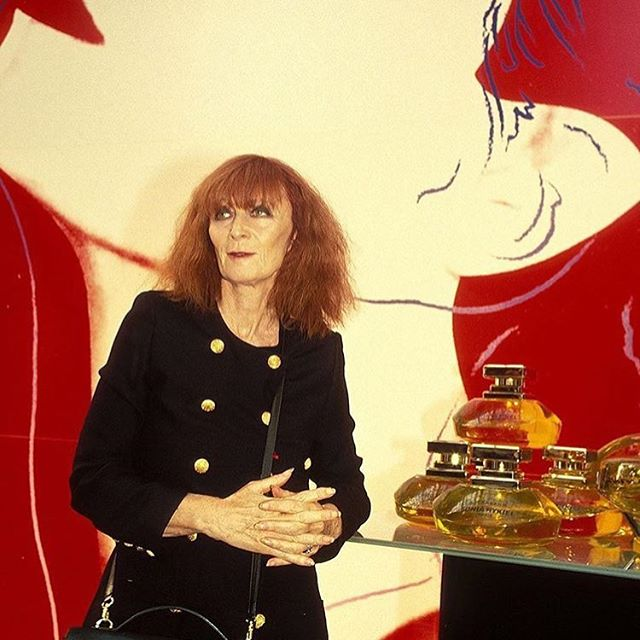 The industry has lost a legend today, RIP Sonia Rykiel @soniarykiel #soniarykiel #fashion #fashionindustry #france #paris #august #RIP