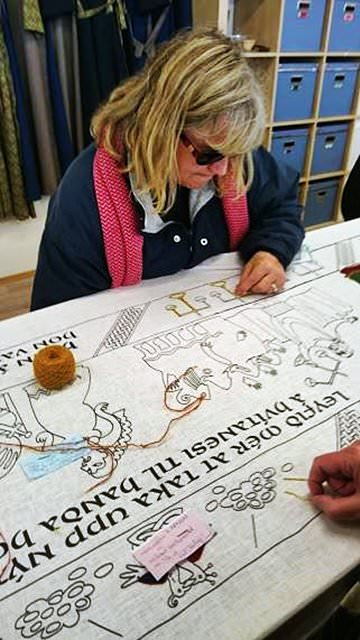 embroidery workshop creative iceland 1