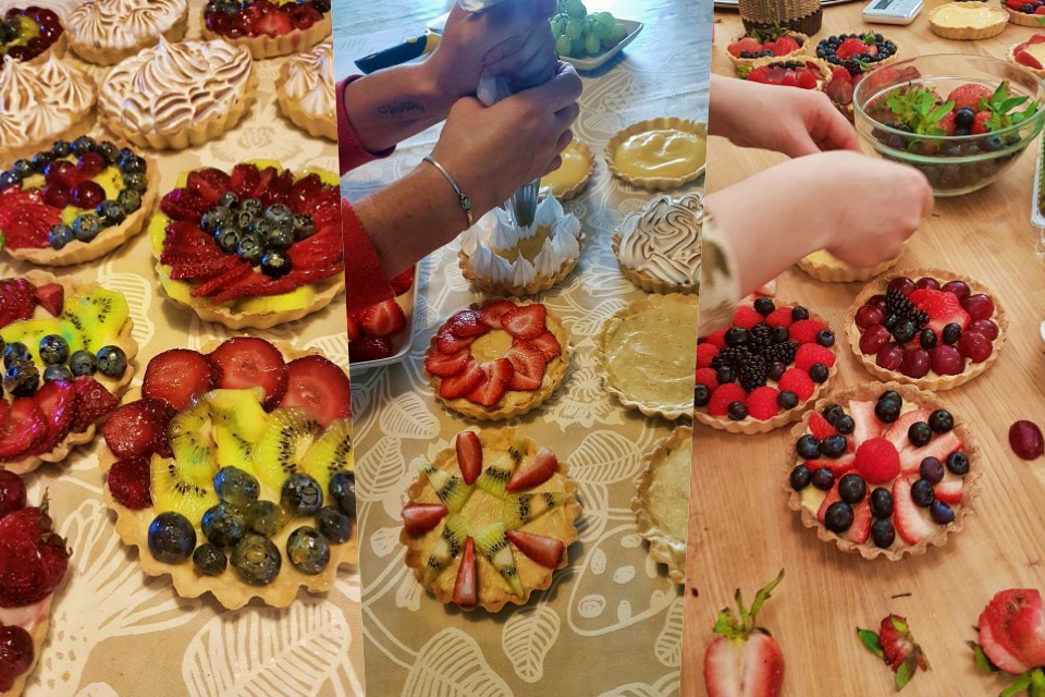 French Tartlets Baking Class Reykjavik, creative iceland, baking class, creative tourism, cooking class, what to do in iceland, iceland, hafnarfjordur