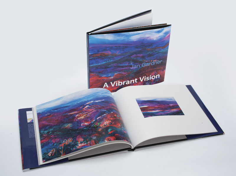 A Vibrant Vision - Hard back 62 pages Full colour.