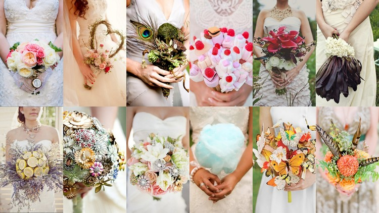 unusual wedding bouquets