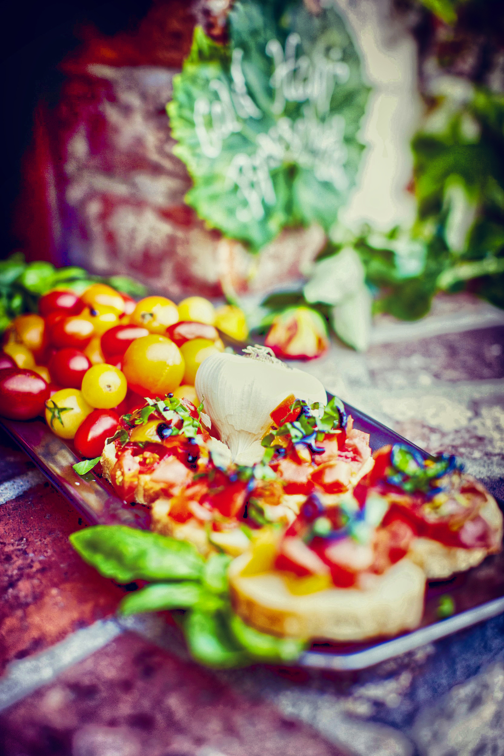 Bruschetta via When Pigs Fly Events