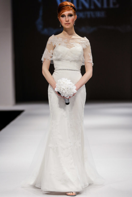 Winnie Couture Bridal via  Fab Sugar