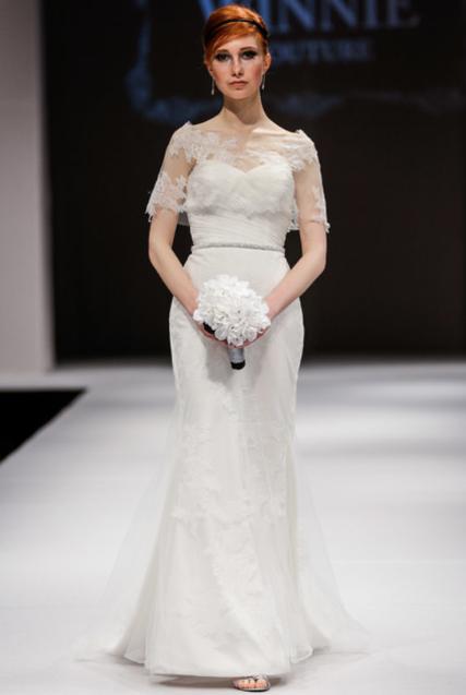 Winnie Couture Bridal via Fab Sugar