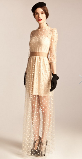 Long Celia Dress via   Temperley London