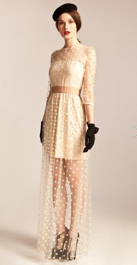 Long Celia Dress via Temperley London