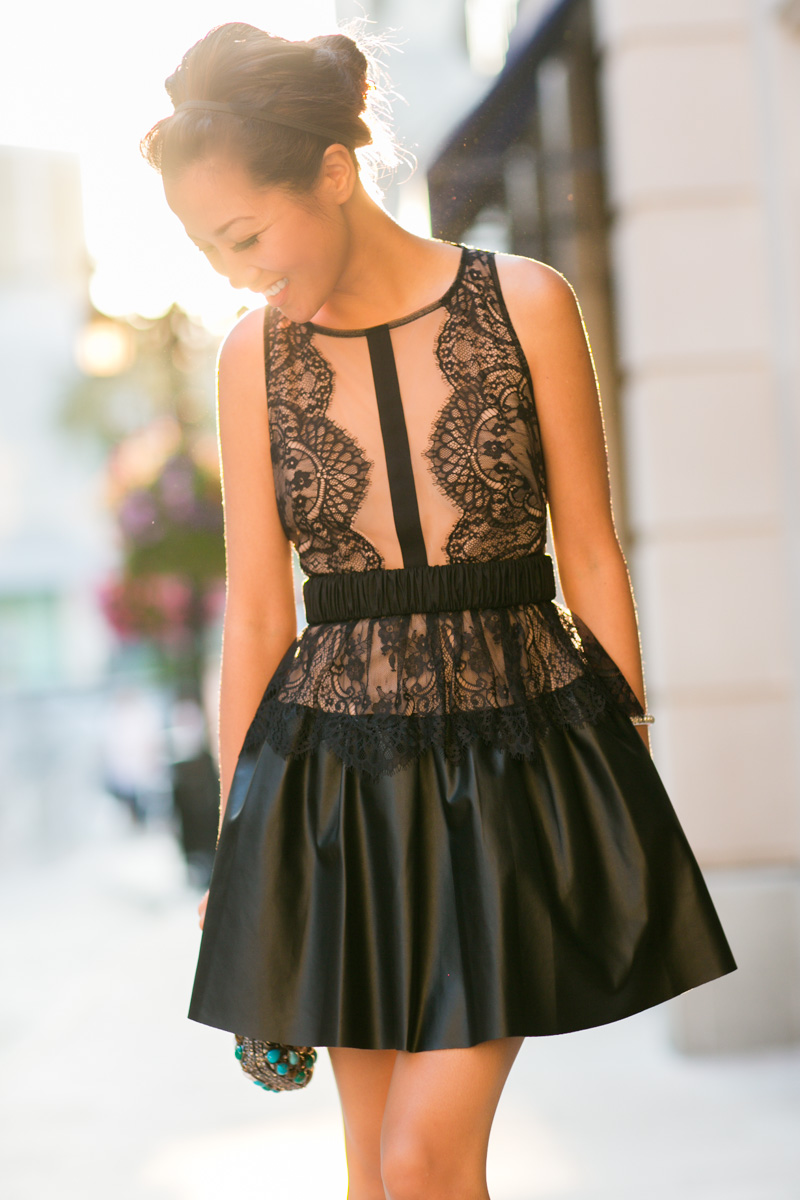Layton Lace Dress by  BCBG  (image via  Social Bliss )