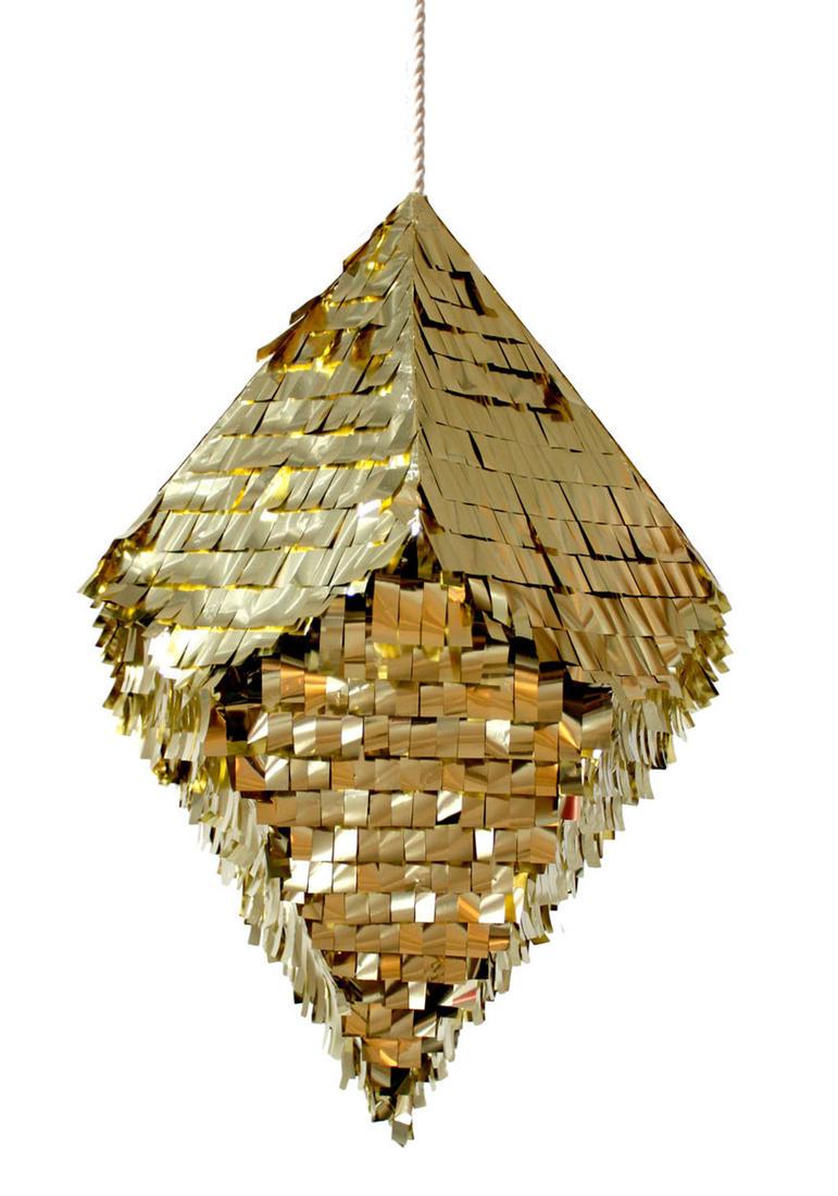 Gold Pinata via  Confetti System