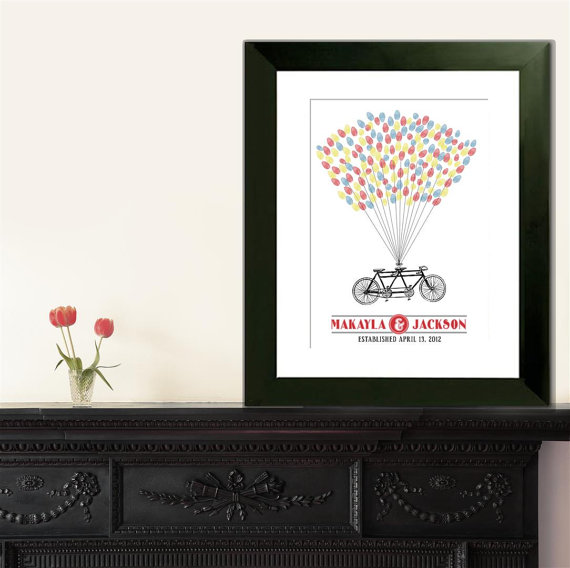 Thumbprint Poster via InvitingMoments