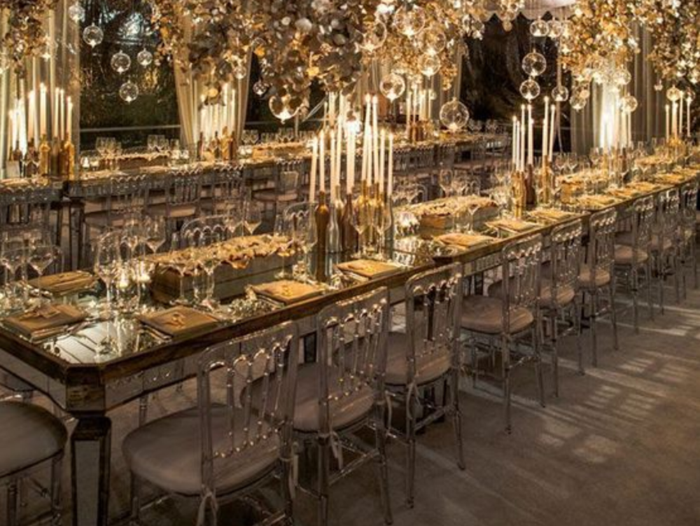 Mirrored Long Tables