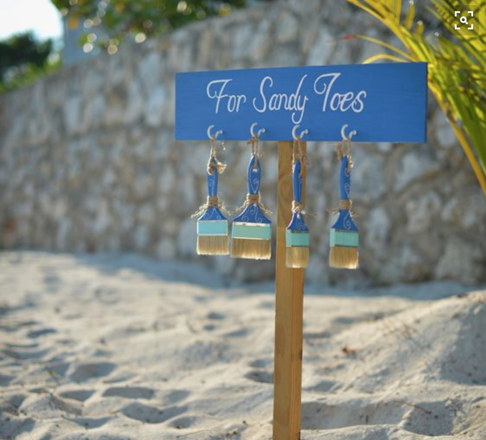 Sandy Toes Area