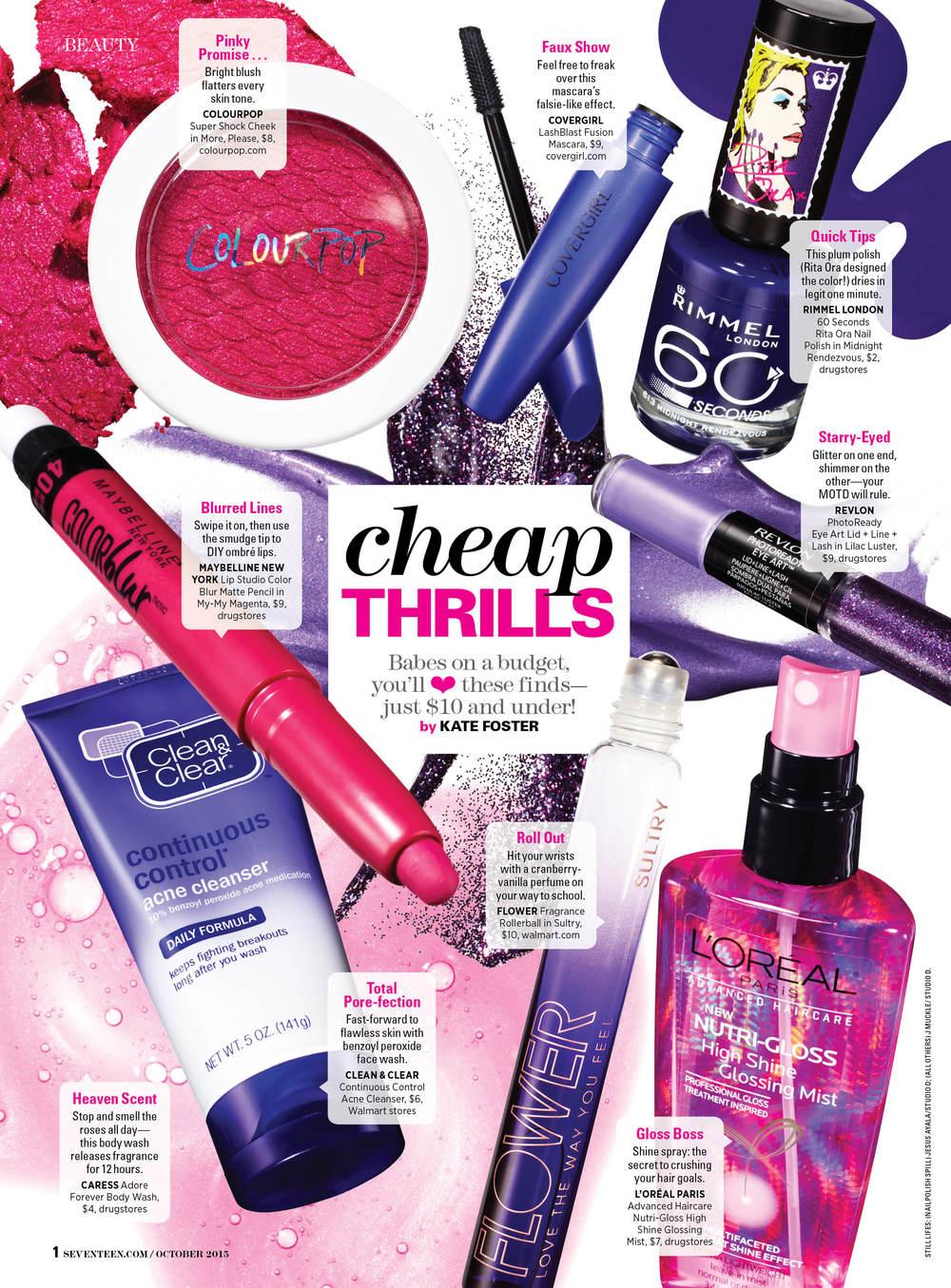 Seventeen Magazine (October 2015)