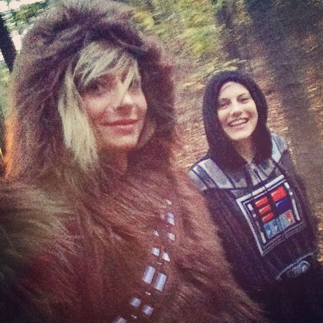 May the force be with you. #happyhalloween #ziplineoverzombies