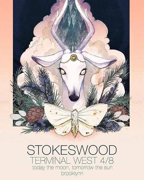 3 weeks and 3 days until we play @terminalwest with @brooklynnmusic  and @stokeswood. NEW MUSIC shall be heard!