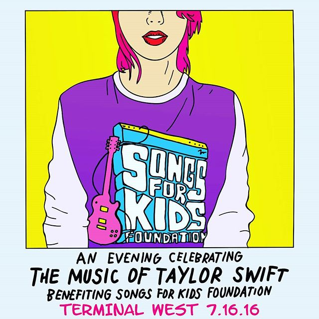 Hope you can join us in the fun July 16th for a fantastic cause!!! Any guesses which Swifty song we'll be playing? Get yr tix here: http://ticketf.ly/1UMH0Rq