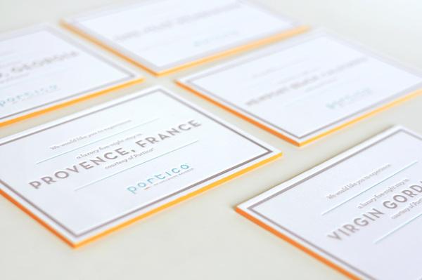 Portico Invitation Materials