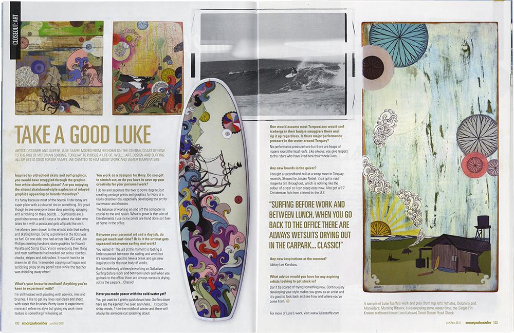smorgasboarder magazine / january 2011