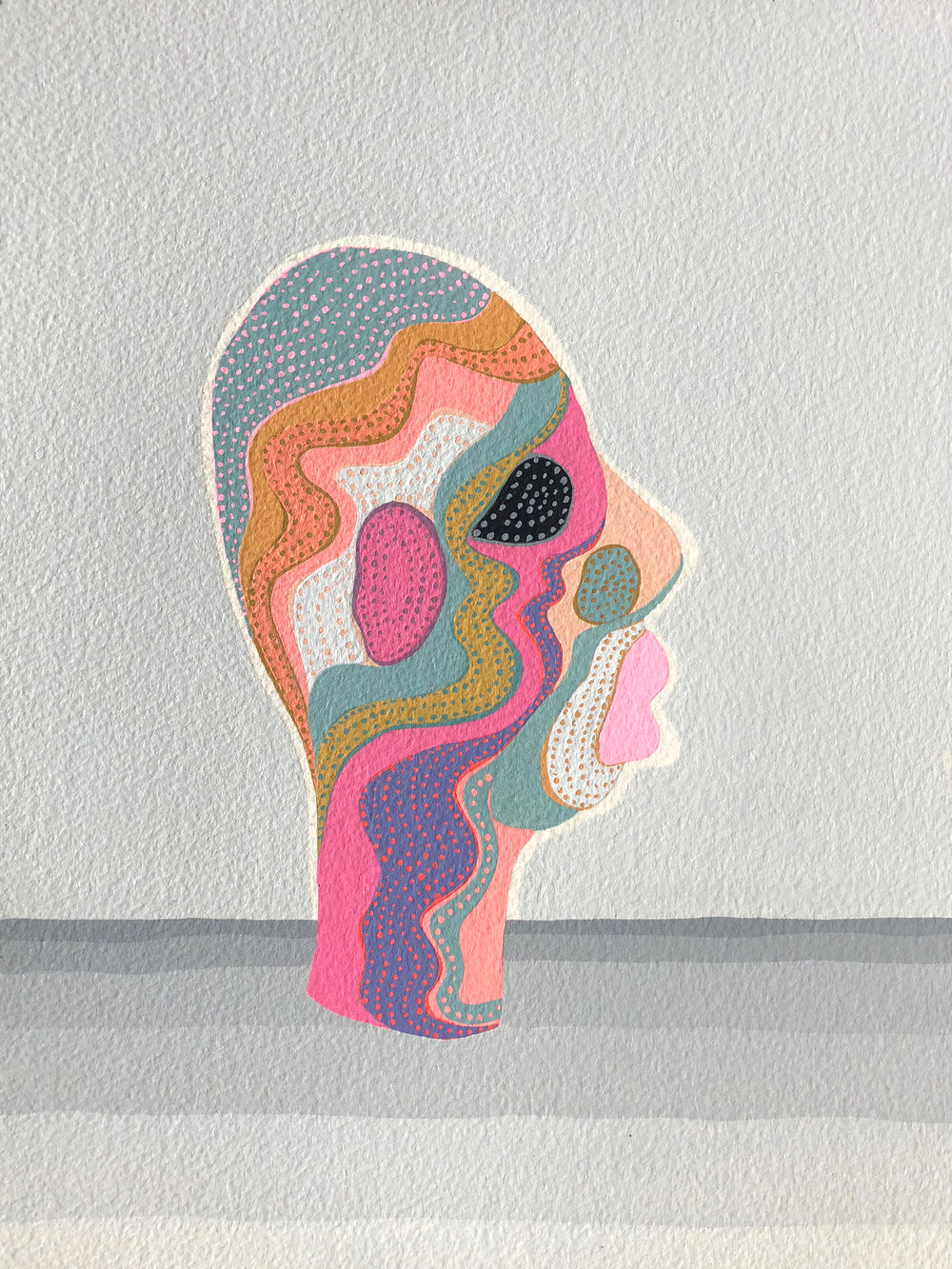 hypercolour head III