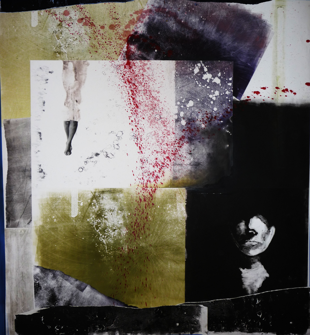 Andrea Nesbitt   Monoprints