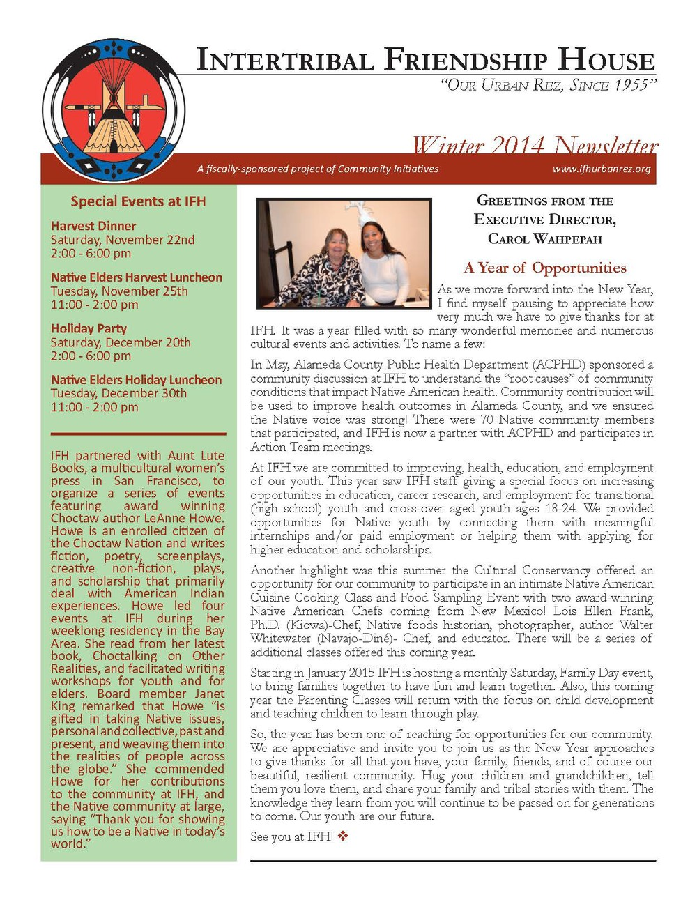 IFH Winter Newsletter pg1.jpg
