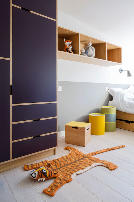 plywood bedroom furniture.  Blackheath Bespoke Plywood Furniture