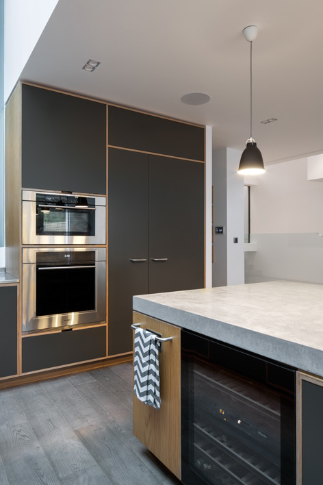 west london kitchen design. Bespoke Kitchen By Uncommon Projects Plywood Furniture