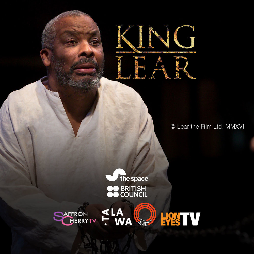 Don Warrington as King Lear in the adaptation of the play by William Shakespeare