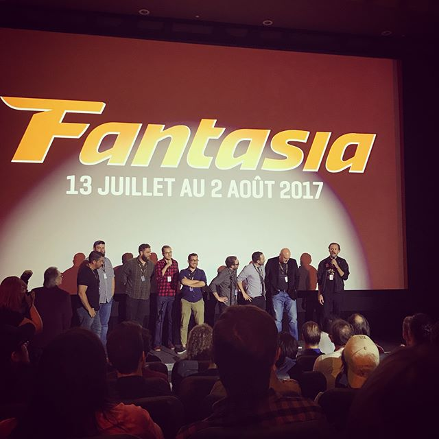 #holidayfear had it's Canadian premiere at @fantasiafestival to a 700 person audience and I put on 7 lbs from smoked meat and poutine. thanks #montreal!