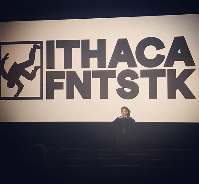 had a fantastik time screening #holidayfear at @ithacafantastik festival this weekend. #seewhatididthere