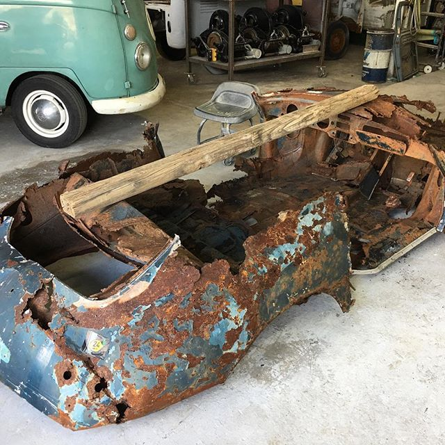 There is no such thing as a Porsche 356 basket case!