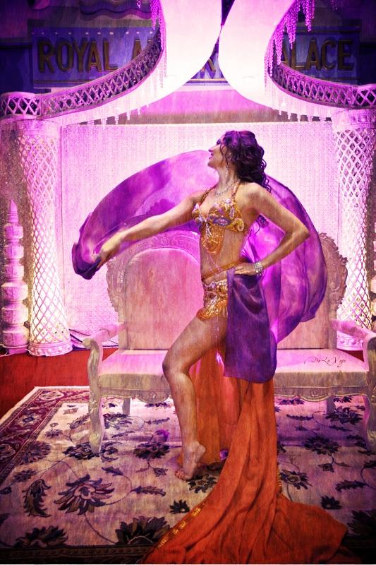 Philadelphia Belly Dancer Serafina at Royal Albert Palace in Fords, NJ