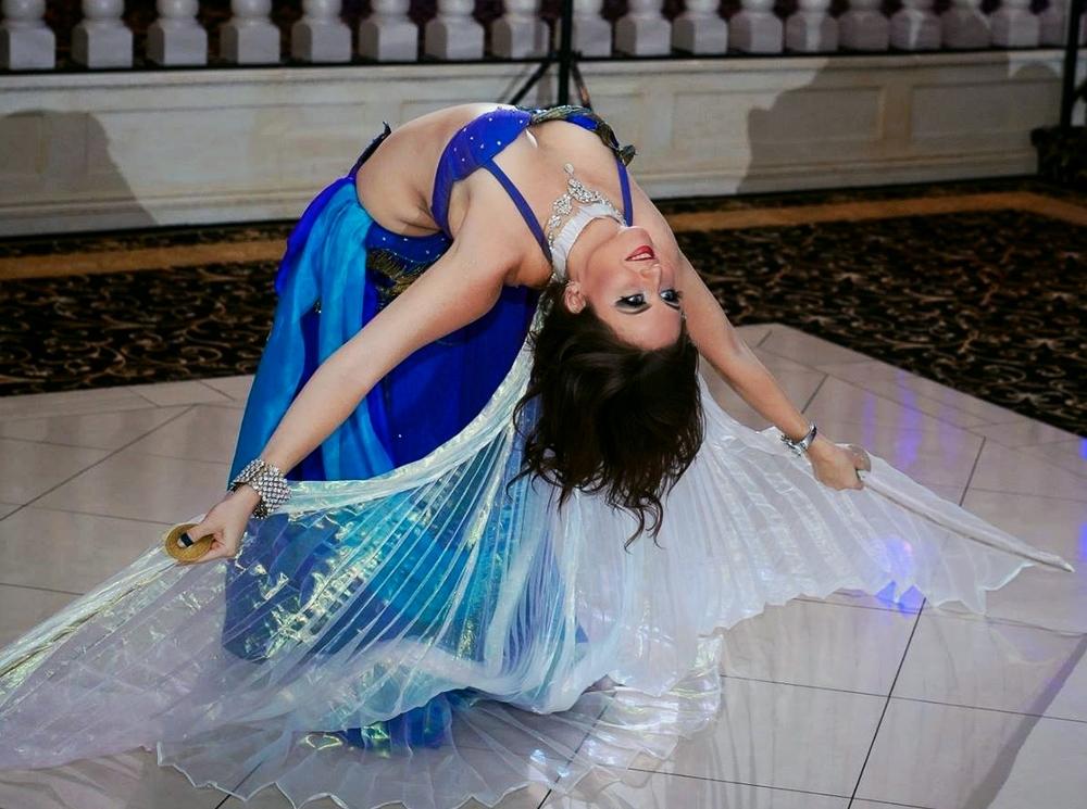 Serafina Belly Dancing at a Wedding in Belleville, NJ