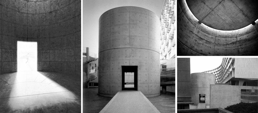 Exhibition Plan D : Tadao ando — brandon rampelt graphic designer