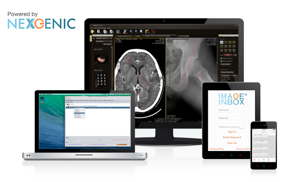 Streamlined Medical Image Exchange