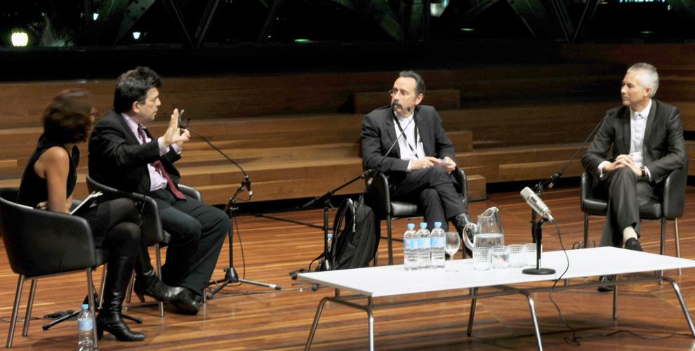 Enriqueta Llabres,  Professor Andrew Benjamin, Professor Donald Bates &Professor Richard Blythe