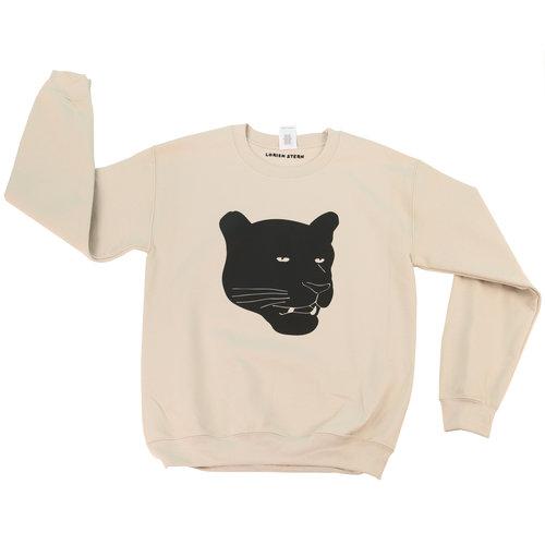 ca553b7b0ea002 First Class Panther Sweatshirt — LORIEN STERN