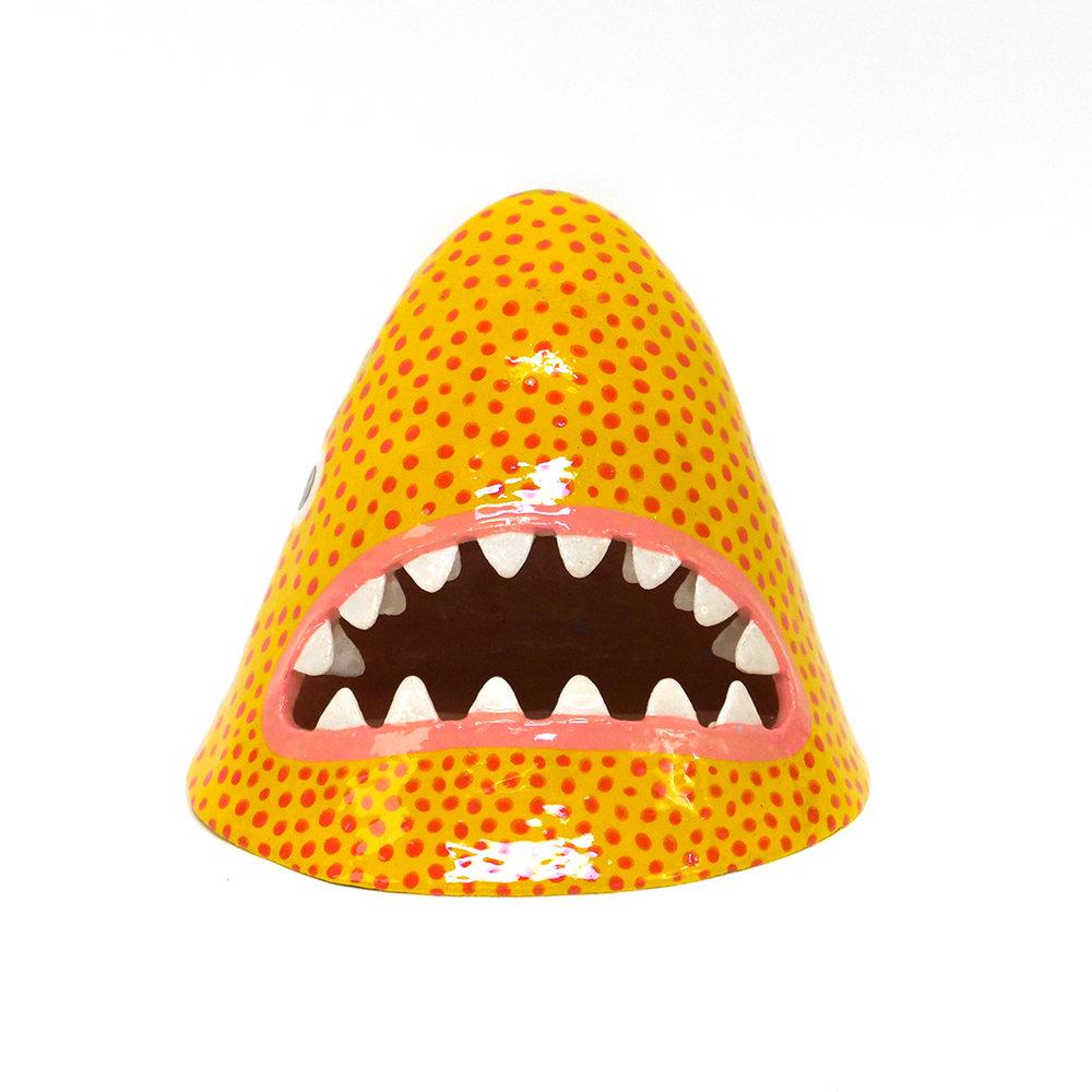 Medium Yellow and Red Dotted Shark.jpg