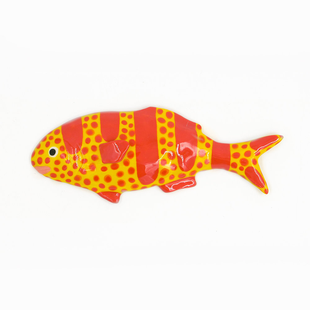 Medium Yellow and Red Striped:Dotted Fish.jpg