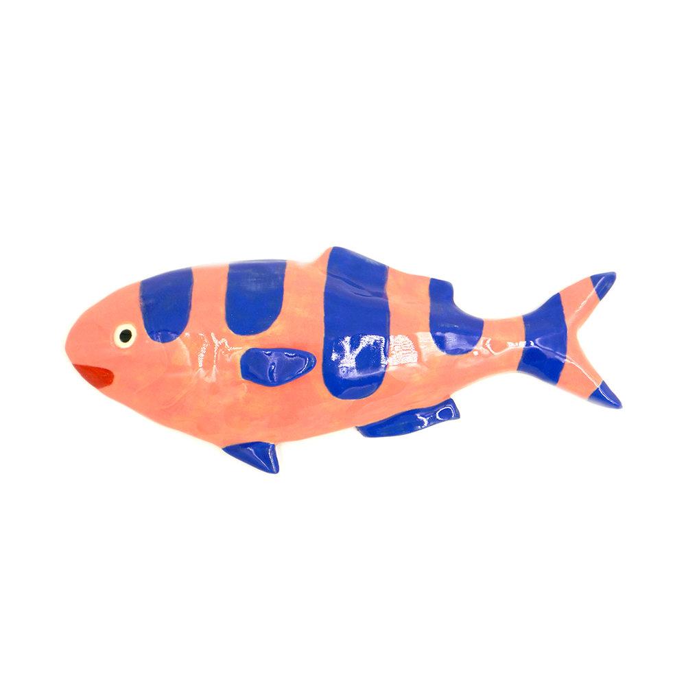 Medium Blue and Pink Striped Fish.jpg