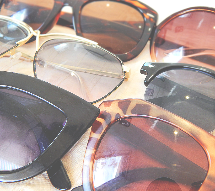 I have a slight obsession with sunglasses.. well anything fashion related really..