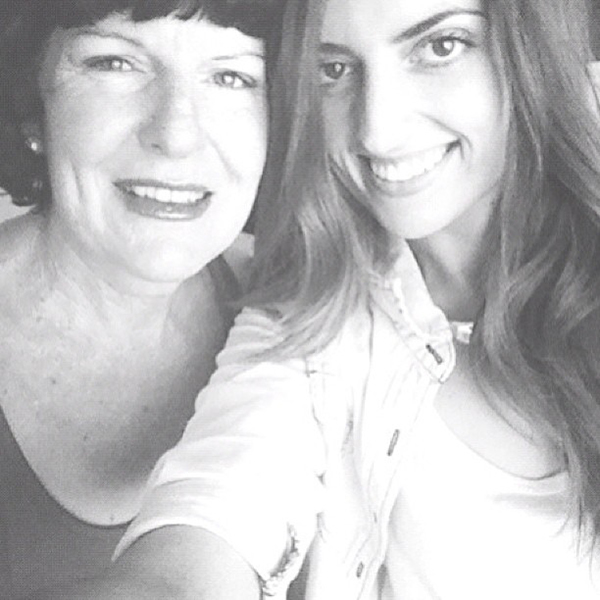 My Mum & best friend.