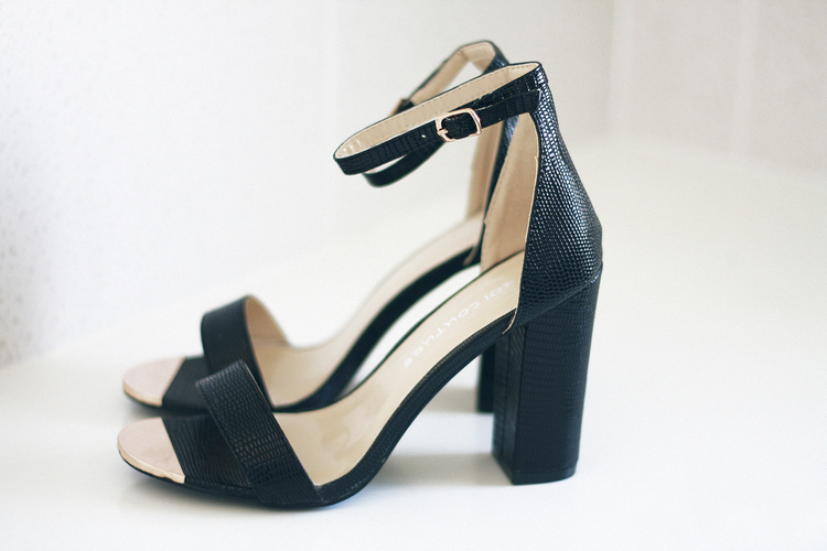 dbc03c65fc7b Every girl needs a pair of simple strappy black heels and make sure they  are comfortable