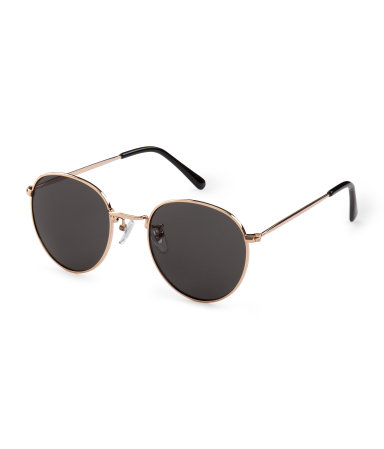 H&M  -  ROUND SUNGLASSES  - $12.95