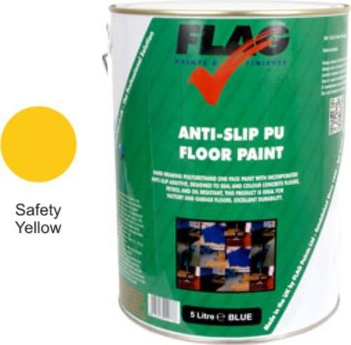 Anti Slip Pu Floor Paint Yellow 5l Amp 20l Product
