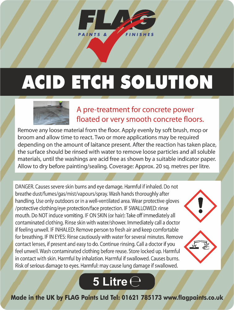 Acid Etch Solution