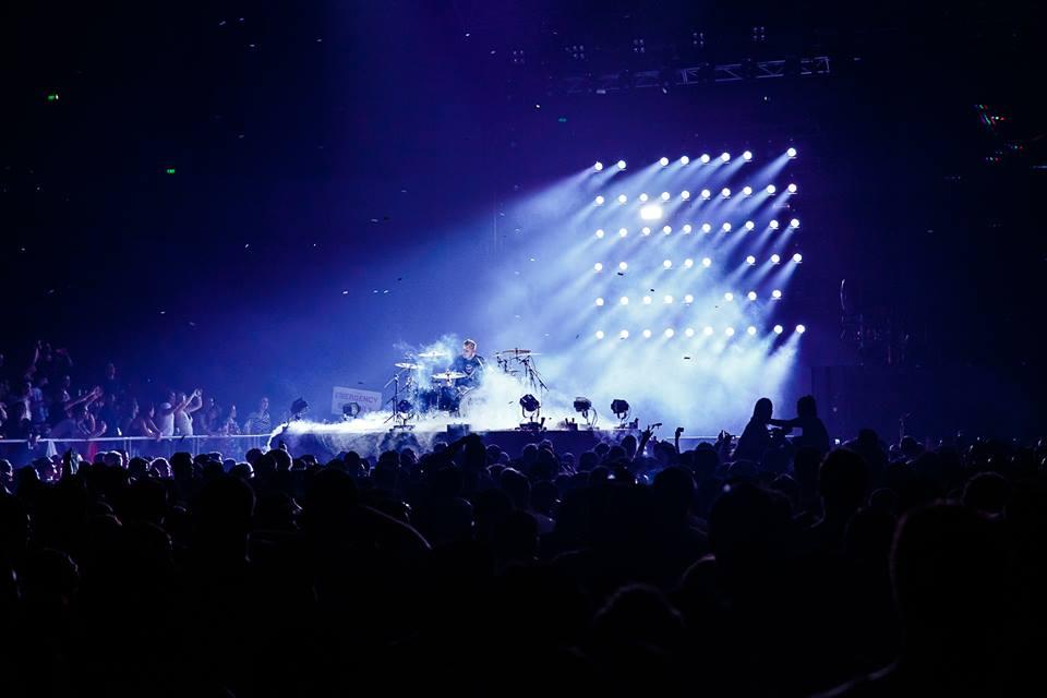 Armin's drummer Koen