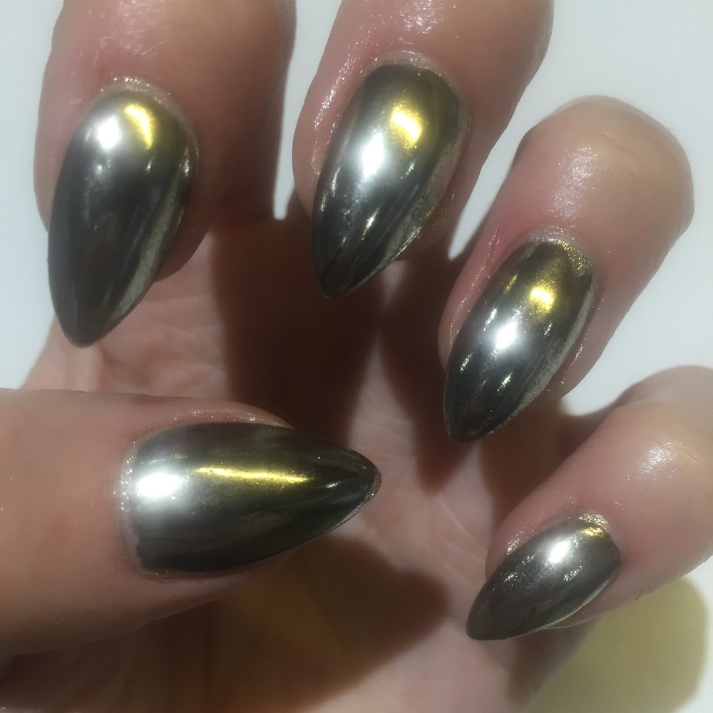 Acrylics with Chrome Finish
