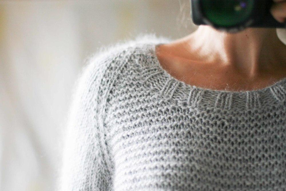 Pattern Il Grande Favorito by Isabell Kraemer. Knitting by me.