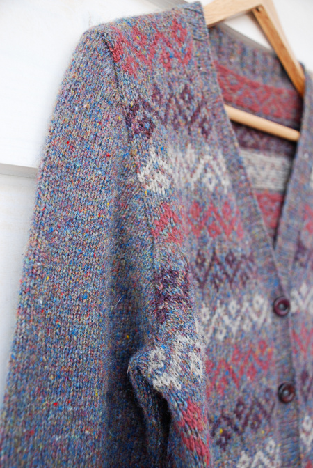 Colourwork by Jules, pattern is Ursula by Kate Davies