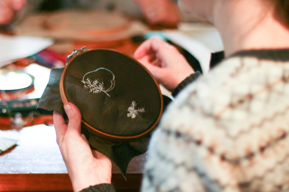 Embroidery From The Natural World with Melissa Wastney